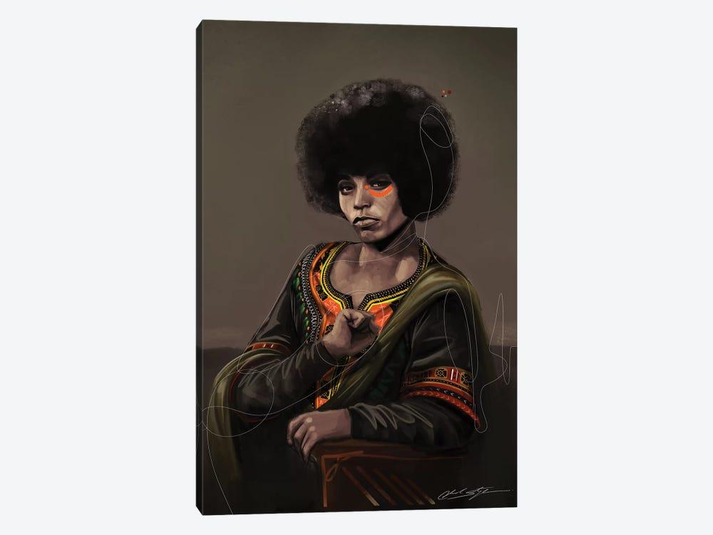 BHM Angela Davis by Chuck Styles 1-piece Canvas Art