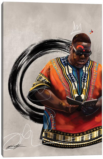 BHM Biggie Canvas Art Print