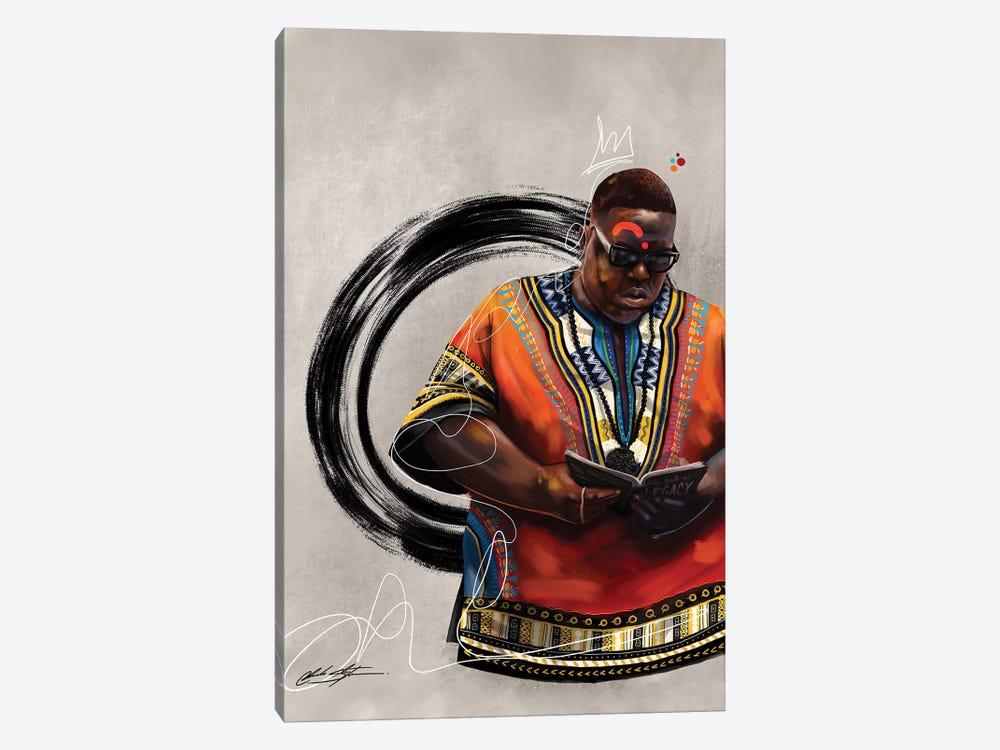 BHM Biggie by Chuck Styles 1-piece Canvas Art Print