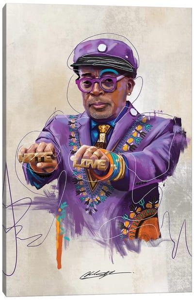 BHM Oscar Spike Canvas Art Print