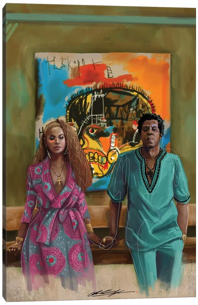 BHM The Carters Canvas Art Print
