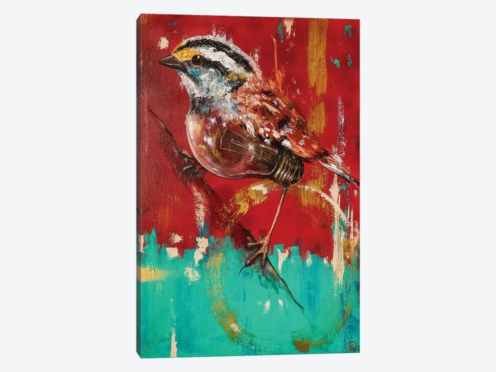Fly On Sparrow by Chuck Styles 1-piece Art Print