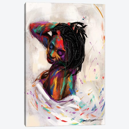 For Colored Girls Canvas Print #CKS20} by Chuck Styles Canvas Art Print