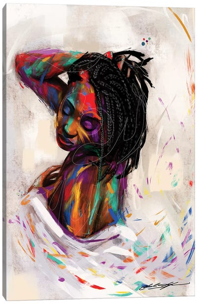 For Colored Girls by Chuck Styles Canvas Art Print