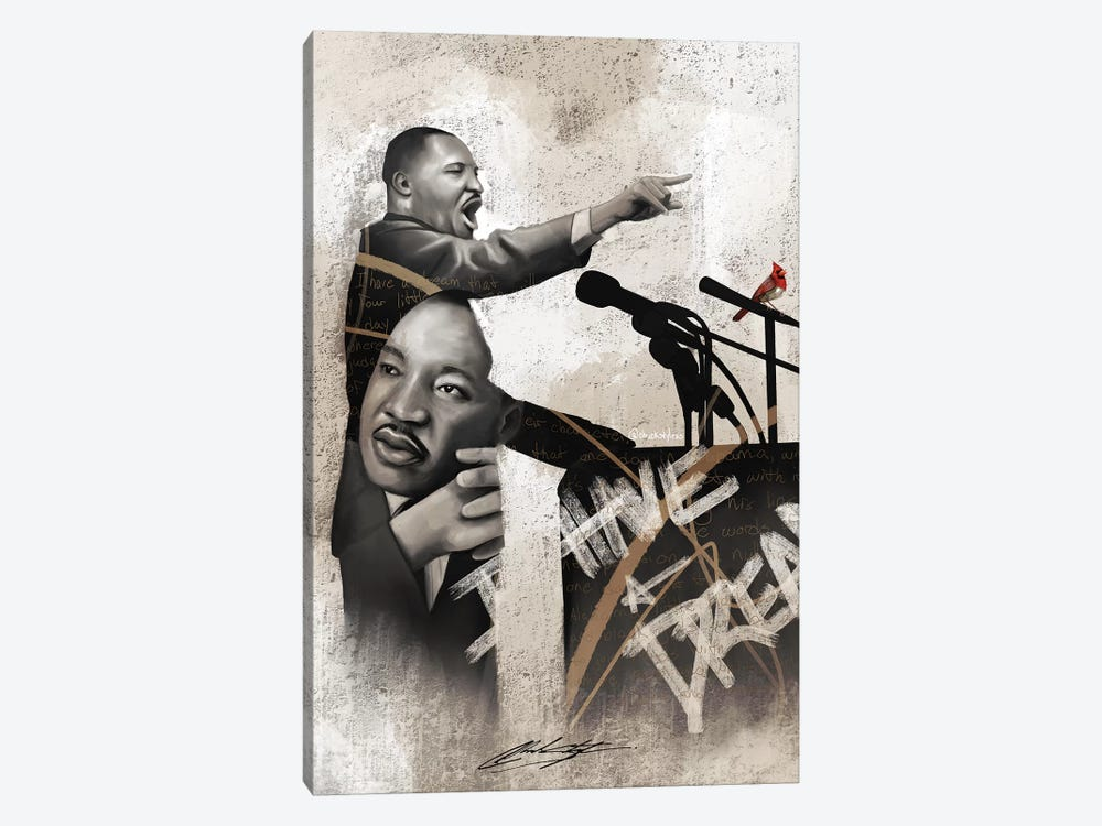 I Am The Dream by Chuck Styles 1-piece Canvas Artwork
