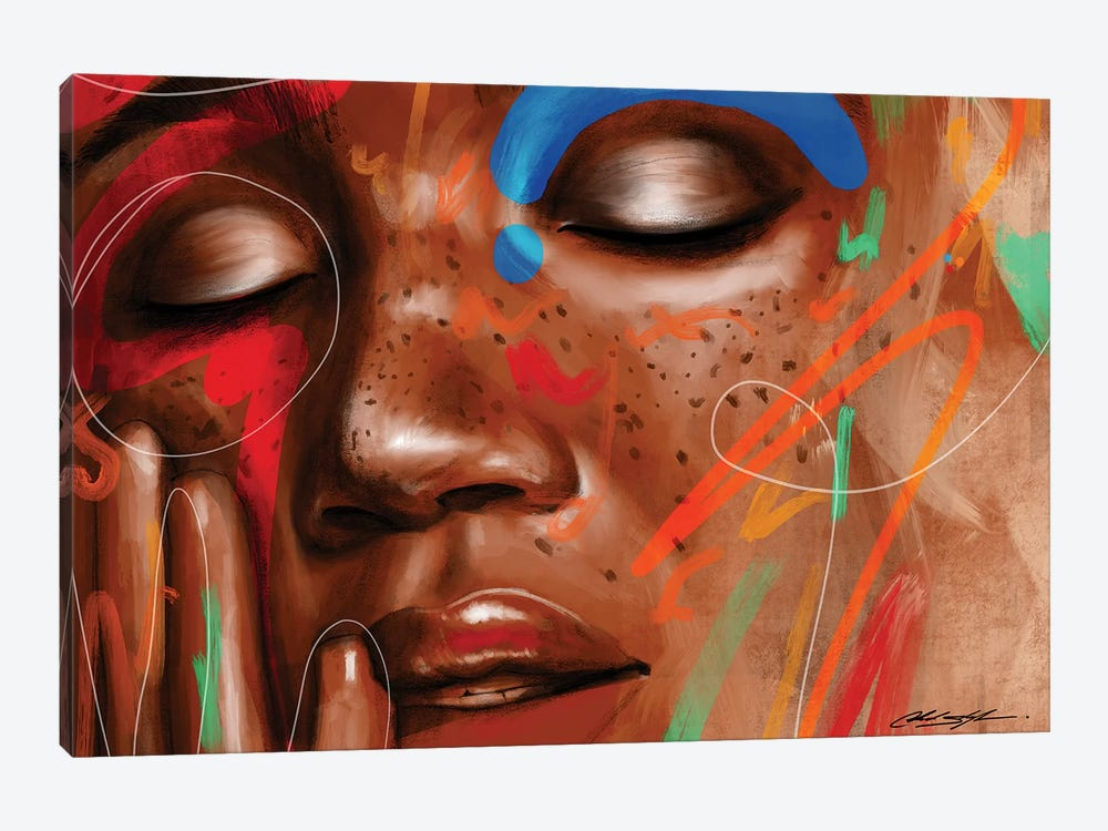 Love Yourz by Chuck Styles 1-piece Canvas Wall Art