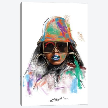 Missy Misdemeanor Canvas Print #CKS29} by Chuck Styles Art Print