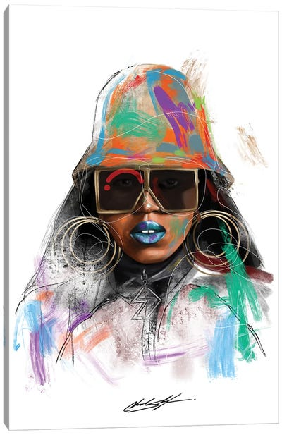 Missy Misdemeanor Canvas Art Print