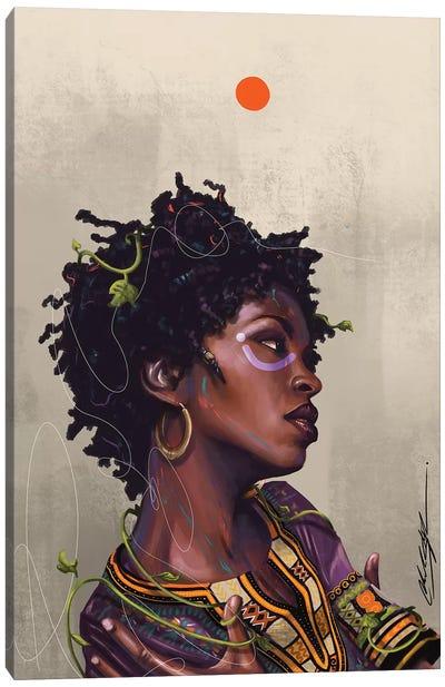 Ms Lauryn Zion Canvas Art Print