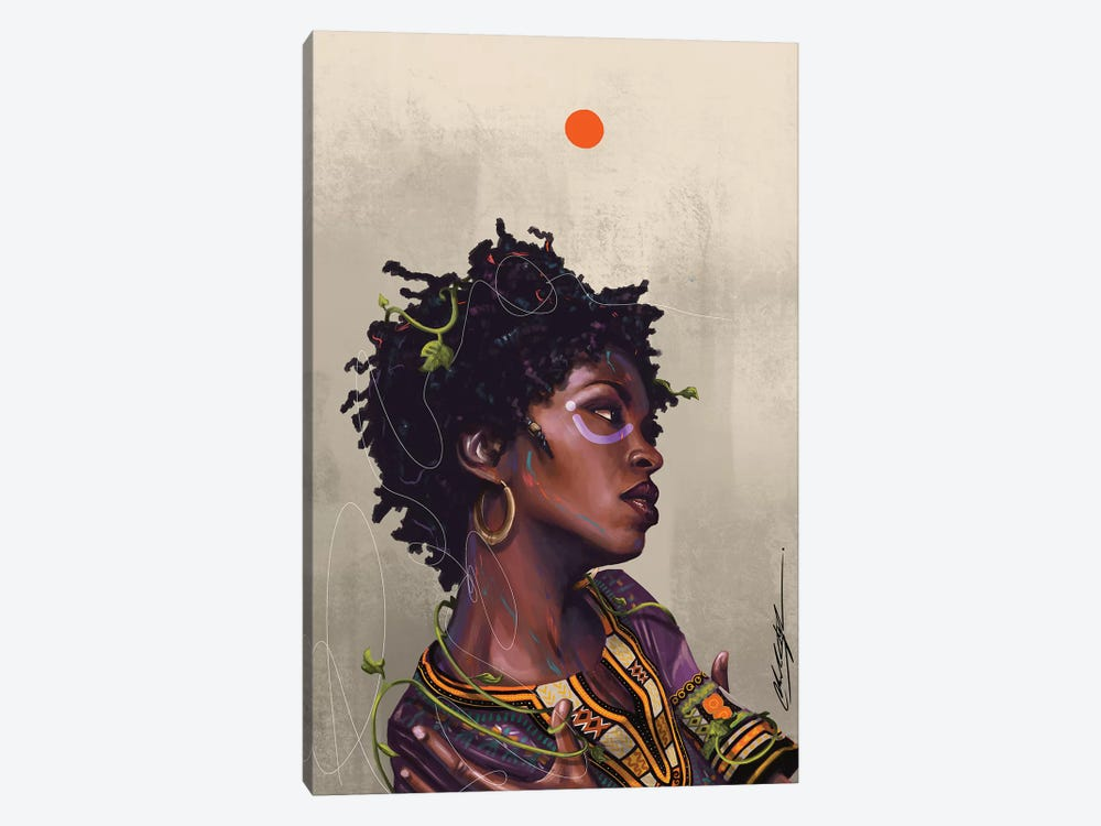 Ms Lauryn Zion by Chuck Styles 1-piece Canvas Art Print
