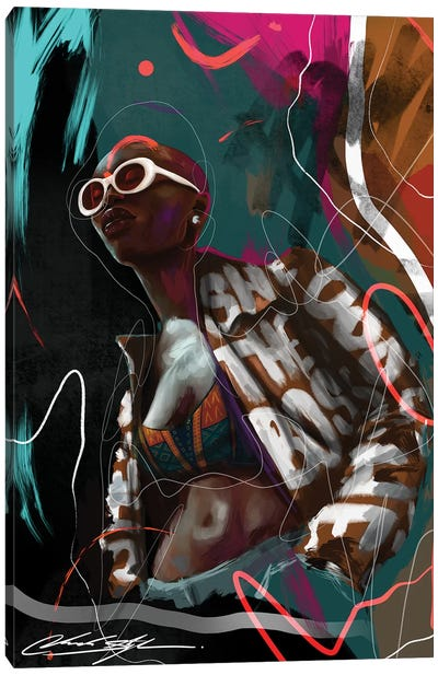 New Age Melanin Canvas Art Print