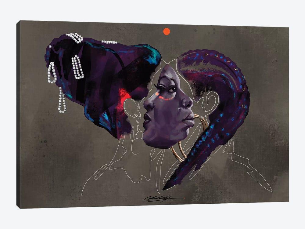 Rapsody Nina by Chuck Styles 1-piece Canvas Art Print