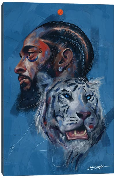Rare Breed Canvas Art Print