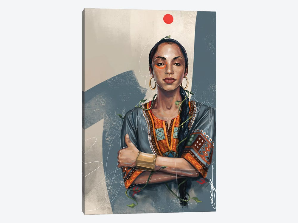 Sade No Ordinary by Chuck Styles 1-piece Canvas Wall Art