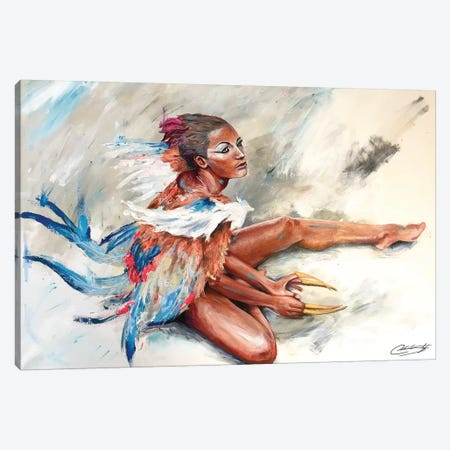 Selita New Canvas Print #CKS39} by Chuck Styles Canvas Artwork