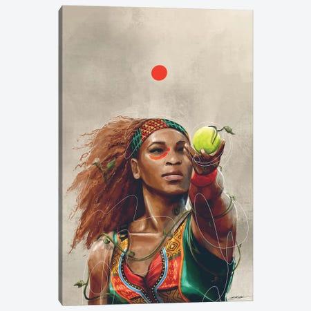 Serena Canvas Print #CKS40} by Chuck Styles Art Print