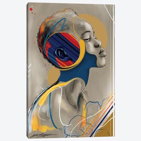 Sonic Canvas Print #CKS43} by Chuck Styles Canvas Art Print