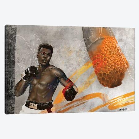Sting Canvas Print #CKS44} by Chuck Styles Canvas Wall Art