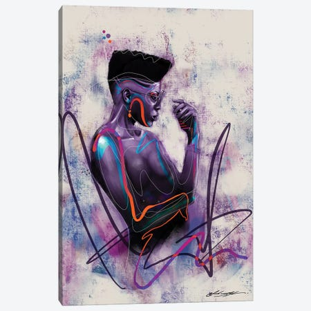 Unapologetic Canvas Print #CKS47} by Chuck Styles Canvas Wall Art