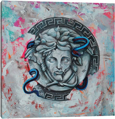 Versace Mythology Canvas Art Print