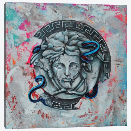 Versace Mythology Canvas Print #CKS48} by Chuck Styles Canvas Art Print
