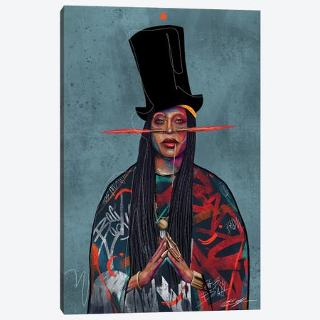 Baduizm Canvas Print #CKS4} by Chuck Styles Canvas Art Print