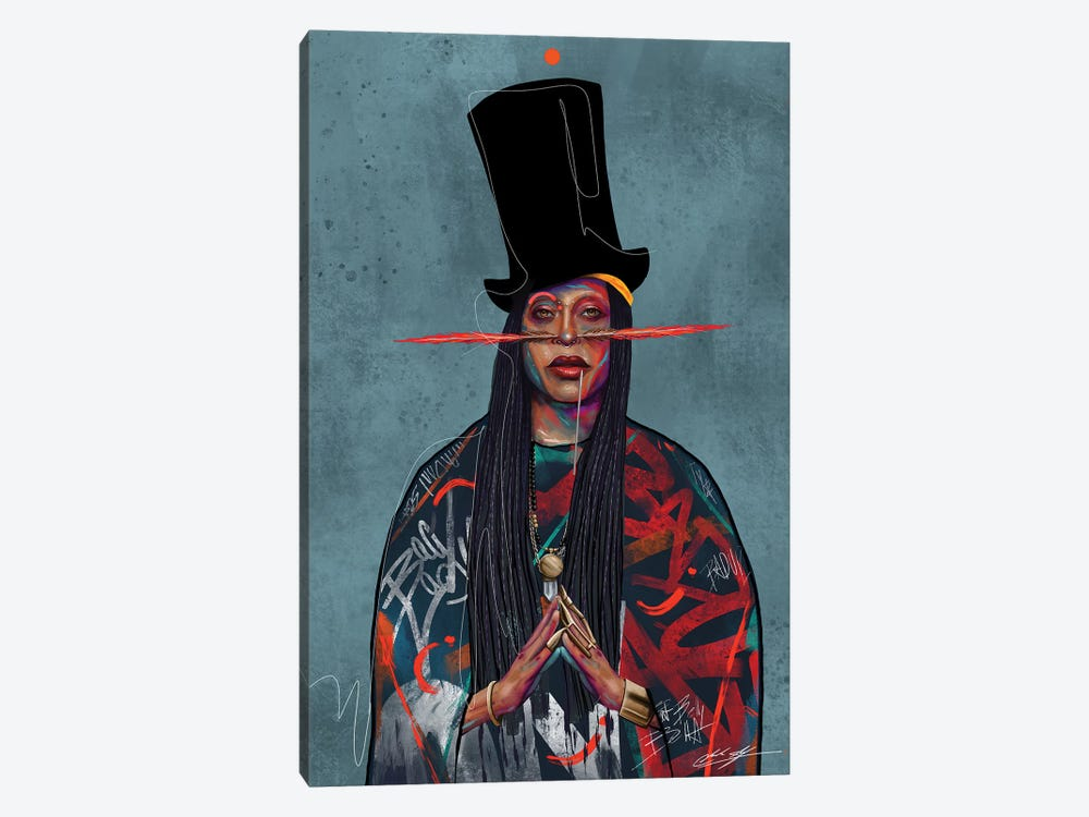 Baduizm by Chuck Styles 1-piece Canvas Print