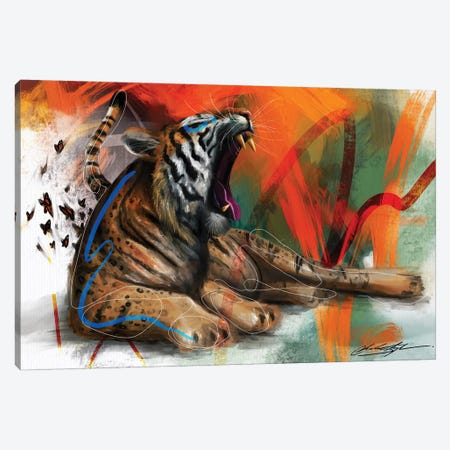 Yawn Of Evening Canvas Print #CKS50} by Chuck Styles Canvas Artwork