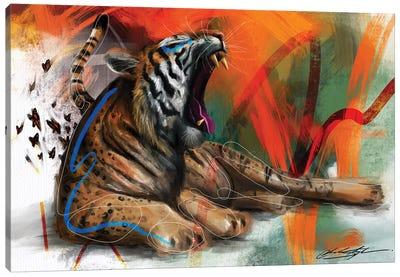 Yawn Of Evening Canvas Art Print