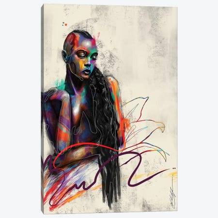 Beautifully Colored Canvas Print #CKS5} by Chuck Styles Canvas Print