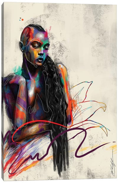 Beautifully Colored Canvas Art Print