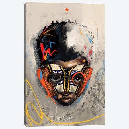 Been Super Boy I Canvas Print #CKS6} by Chuck Styles Art Print