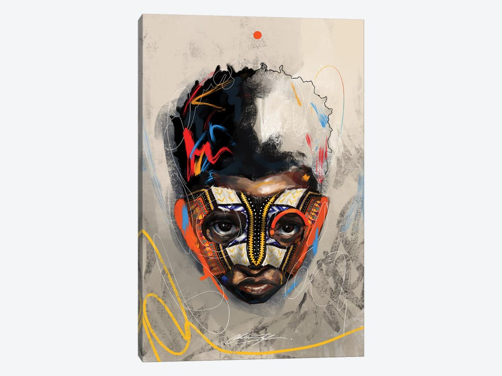 Been Super Boy I by Chuck Styles 1-piece Canvas Print