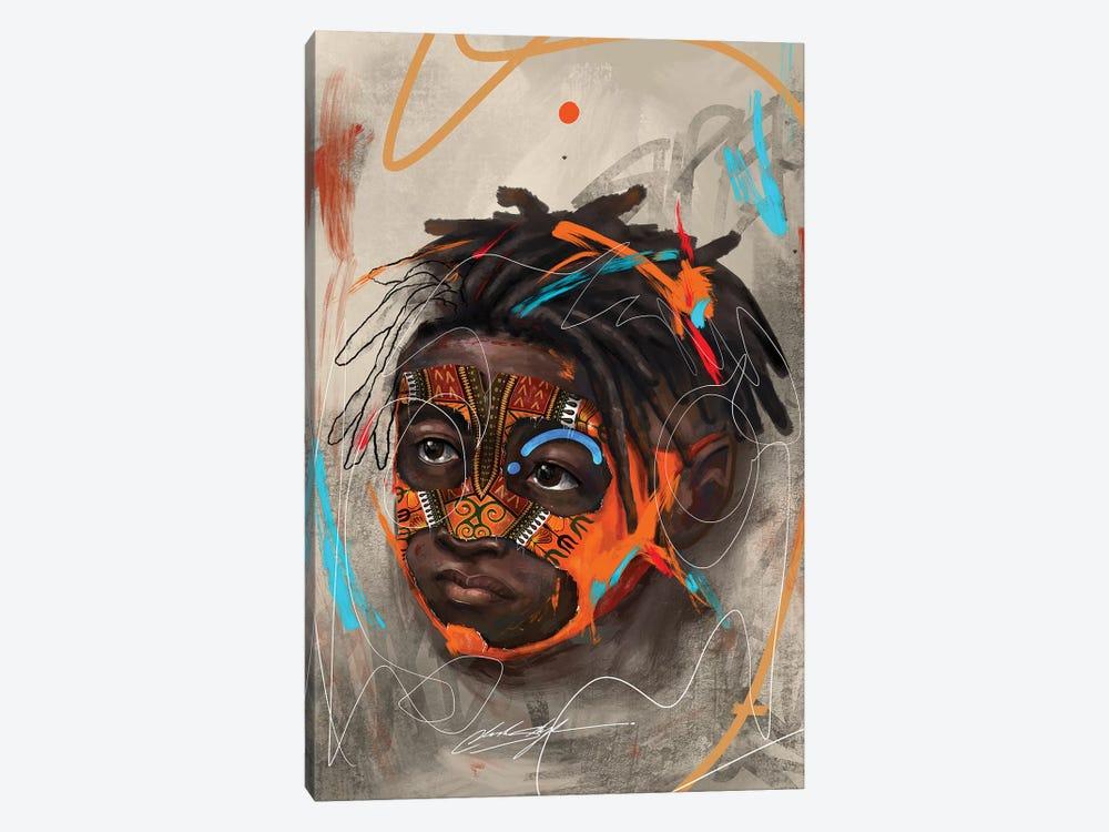 Been Super Boy II by Chuck Styles 1-piece Canvas Wall Art