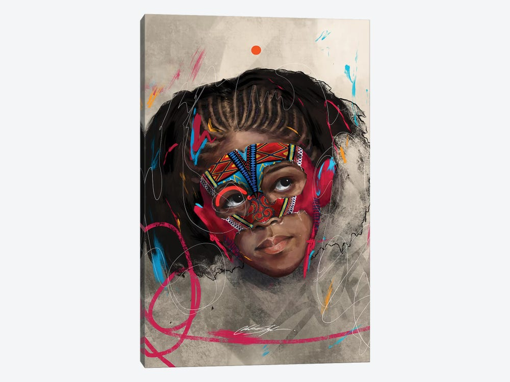 Been Super Girl by Chuck Styles 1-piece Canvas Print