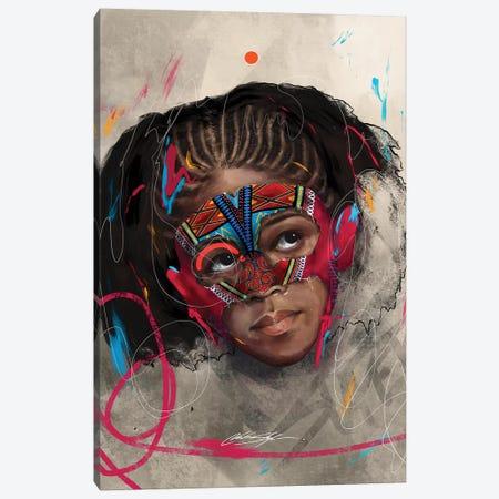 Been Super Girl Canvas Print #CKS8} by Chuck Styles Canvas Art