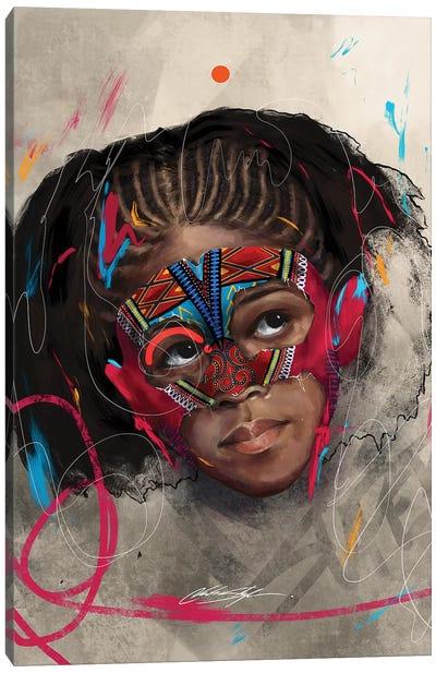Been Super Girl Canvas Art Print