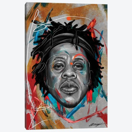 Been Super Jay Canvas Print #CKS9} by Chuck Styles Canvas Wall Art