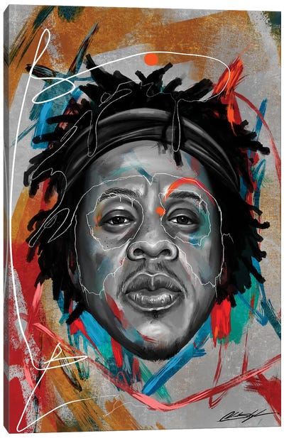 Been Super Jay Canvas Art Print