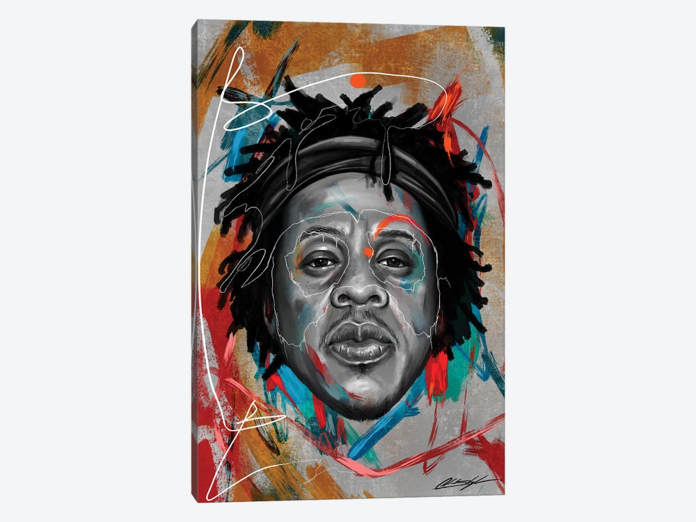 Been Super Jay by Chuck Styles 1-piece Canvas Artwork