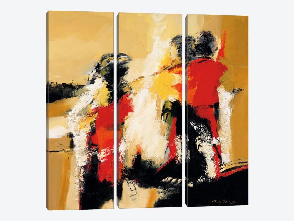Magic Moments II by Ricky Damen 3-piece Canvas Art Print