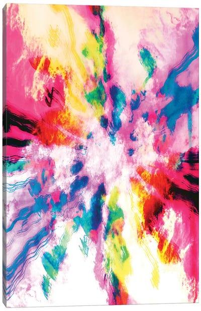 Screaming Clouds Canvas Art Print