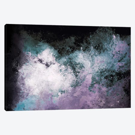 Soaked Chroma Canvas Print #CLB36} by Caleb Troy Art Print