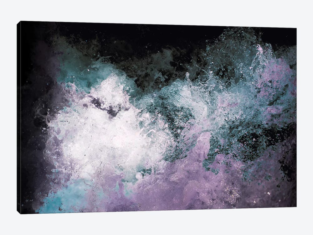 Soaked Chroma by Caleb Troy 1-piece Canvas Art