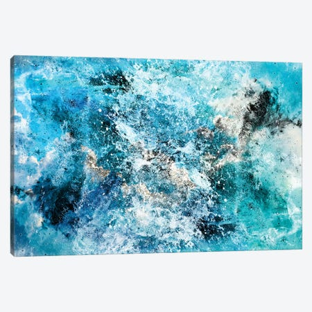 Water's Dance Canvas Print #CLB41} by Caleb Troy Art Print