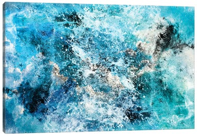 Water's Dance Canvas Art Print