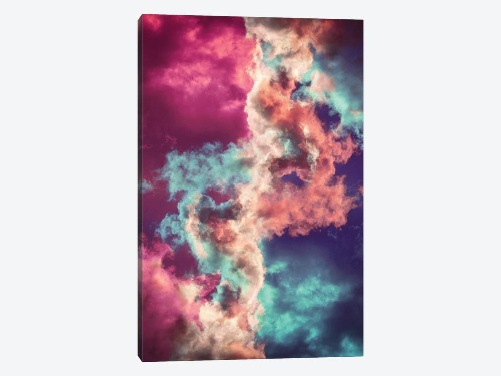 Yin Yang Painted Clouds by Caleb Troy 1-piece Canvas Print