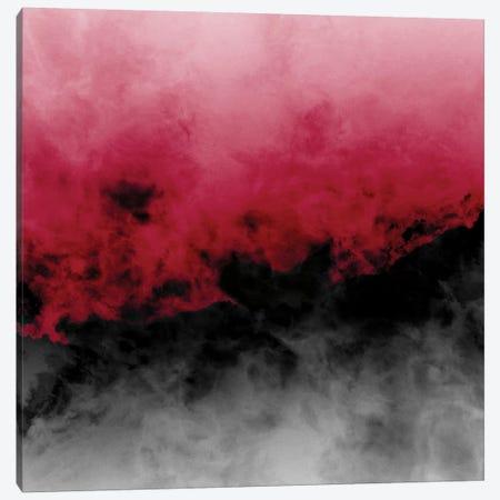 Zero Visibility Crimson Canvas Print #CLB43} by Caleb Troy Art Print
