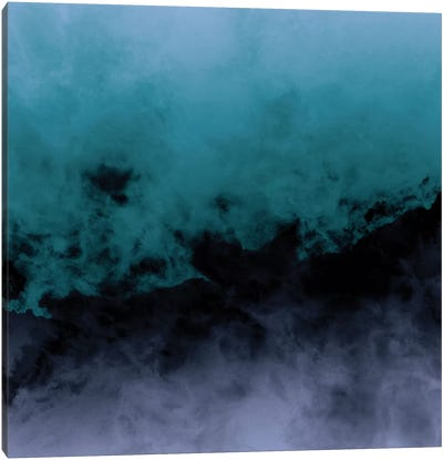 Zero Visibility Cut Canvas Art Print