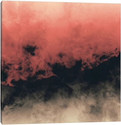 Zero Visibility Dust Canvas Art Print